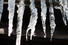 Eiszapfen 5 Stockfotos