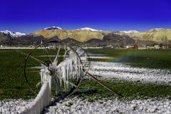 Eiszapfen im Frühjahr Lizenzfreies Stockfoto