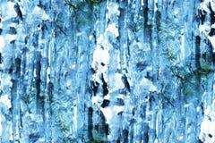 Eiszapfenauszug Stockfotografie