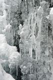 Eiszapfendekoration Lizenzfreies Stockfoto