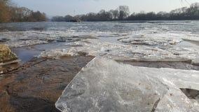 Eiszeit zima Niemcy Karlstein Zdjęcia Stock