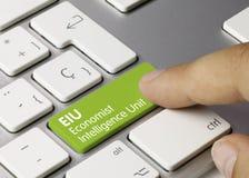 Free EIU Economist Intelligence Unit - Inscription On Green Keyboard Key Royalty Free Stock Photos - 165533328