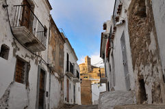 Eivissa, capital city of Ibiza Royalty Free Stock Images