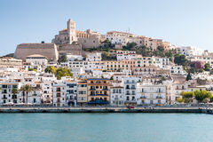 Eivissa - the capital of Ibiza, Spain Royalty Free Stock Image