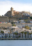 Eivissa Ibiza πόλη Στοκ εικόνα με δικαίωμα ελεύθερης χρήσης