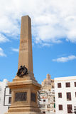 Eivissa Ibiza town corsair monument Stock Photos