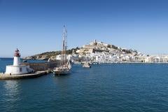 Eivissa ibiza town Royalty Free Stock Photography