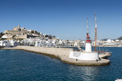 Eivissa ibiza town Royalty Free Stock Photography