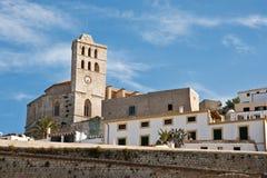 Eivissa-Kirche Stockfotos