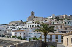 Eivissa old city Stock Image