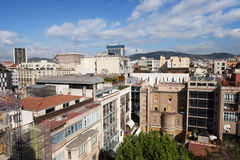 Eixample District of Barcelona Stock Photography
