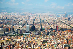 The Eixample district of Barcelona in Spain Stock Photo