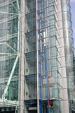 Eixo de elevador de vidro Imagens de Stock Royalty Free