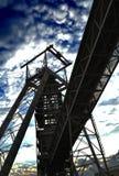 Eixo de mina Foto de Stock