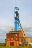Eixo de mina velho de carvão imagens de stock royalty free