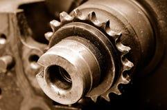 Eixo do motor do close up Imagem de Stock Royalty Free