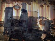 Eixo helicoidal de carvão Imagens de Stock Royalty Free