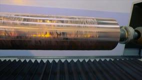 Eixo impresso Imprensa cil?ndrica para a impress?o do papel de parede O mecanismo da impress?o no papel de parede Imprensa de imp filme
