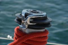 Eixo tracionador do barco Imagens de Stock Royalty Free