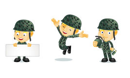 Ejército 1 Foto de archivo libre de regalías
