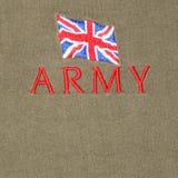 Ejército británico Imágenes de archivo libres de regalías