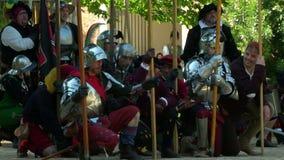 Ejército de la batalla del renacimiento metrajes