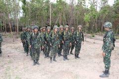 Ejército de la infantería Imágenes de archivo libres de regalías