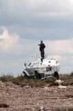 Ejército de la O.N.U Imagen de archivo libre de regalías
