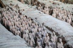 Ejército de la terracota de China fotografía de archivo