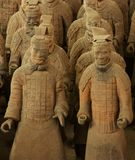 Ejército de la terracota de Xi'An Fotos de archivo libres de regalías