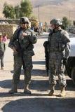 Ejército de los E.E.U.U. en Iraq Fotos de archivo libres de regalías
