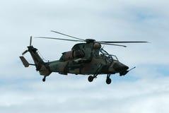 Ejército de los militares del helicóptero Fotografía de archivo