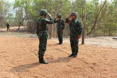 Ejército de Salvamento Tailandia Fotos de archivo libres de regalías