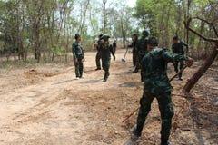 Ejército de Salvamento Tailandia Fotos de archivo
