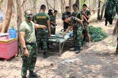 Ejército de Salvamento Tailandia Fotografía de archivo libre de regalías