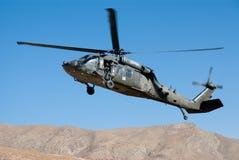 Ejército del EE. UU. UH 60 Blackhawk Imágenes de archivo libres de regalías