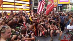 Ejército en NYC Foto de archivo