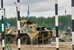 Ejército Games-2017 Competencia Tyumen de la ruta segura Rusia Foto de archivo
