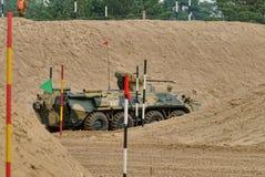 Ejército Games-2017 Competencia Tyumen de la ruta segura Rusia Imagen de archivo libre de regalías