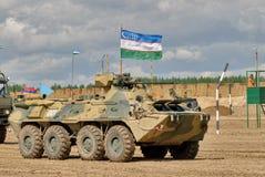 Ejército Games-2017 Competencia Tyumen de la ruta segura Rusia Fotografía de archivo