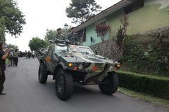 Ejército indonesio Imagen de archivo libre de regalías
