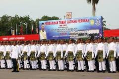 Ejército malasio real joven Fotografía de archivo