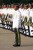 Ejército malasio real joven Foto de archivo