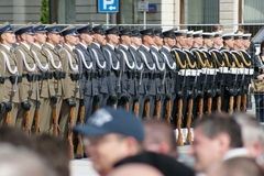 Ejército polaco Imagen de archivo