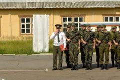 Ejército ruso Imagenes de archivo