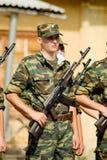 Ejército ruso Imágenes de archivo libres de regalías