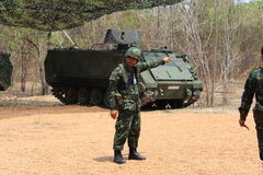Ejército tailandés Imagen de archivo