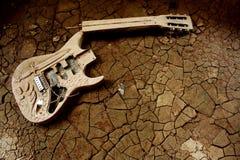 Eje de balancín de la guitarra Fotografía de archivo
