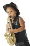 Eje de balancín preescolar del saxofón Foto de archivo libre de regalías