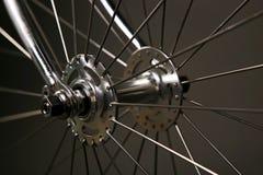 Eje de la bicicleta Foto de archivo libre de regalías